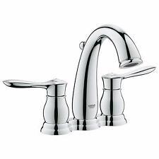 """Grohe 20391-000 Parkfield 4"""" Center Set Lavatory Faucet, Chrome"""