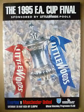 1995 FA CUP FINAL- EVERTON v MANCHESTER UNITED