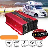 Spannungswandler 3000W Solar Power Inverter Sine Wave 24V to 240V 50HZ LCD
