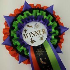 Halloween Rosette Best In Show  Winner Rosette Well Done Rosette FREE POSTAGE
