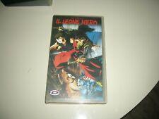 VHS IL LEONE NERO GO NAGAI COMPLETO ANIME INEDITO DVD DYNAMIC  HENTAI OAV OVA