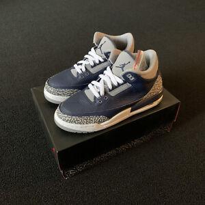Jordan 3 Retro Georgetown GS Size 6.5Y/8W (398614-401)