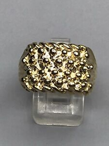 9ct GOLD KEEPER RING