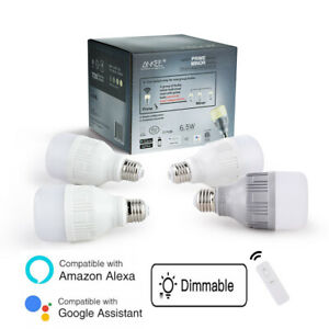 Smart APP Home Wifi Light Bulb Dimmable LED E26 Lamp Voice Work Alexa / Google