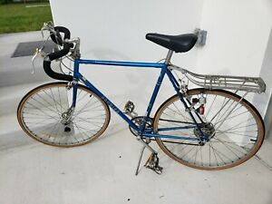 "1980 Schwinn Le Tour Sky Blue shimano 24"" 100% original Chicago made"