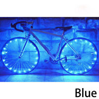 20 LED Bicycle Bike Cycling Rim Lights LED Wheel Spoke Light String Lamp Nice