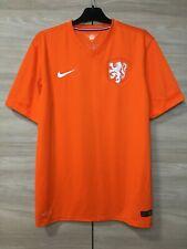 Netherlands Holland 2014-2015 Home Football Soccer Nike Shirt Jersey size L