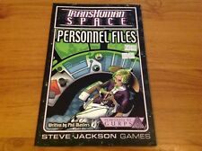 TransHuman Space Personnel Files Steve Jackson Games