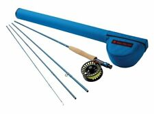 "Redington Crosswater 476-4 Fly Rod Outfit - 7'6"" 4wt, 4pc Combo - New"