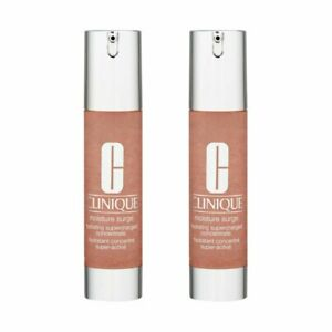 2X Clinique Moisture Surge Hydrating Supercharged Concentrate 1.6oz, 48ml