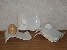 VILLEROY & BOCH *NEW* New Wave Set 5 coquetiers Eggcups V&B
