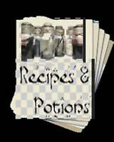 26 pages of Recipes & Potions Rare Collection Wicca Book of Shadows Spells Charm