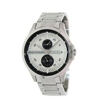 Armani Exchange AX2117 A/X Mens watch silver stainless steel band