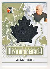 Georges St-Pierre 2011 ITG Canadiana Mega Memorabilia Gold Card #MM-36 /10