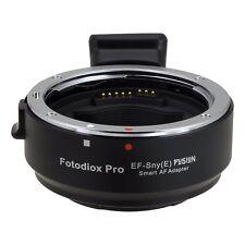 Fotodiox EF-Sny) Lente Af inteligente (E Montaje Adaptador Canon EOS EF EF-S para Sony E Mount