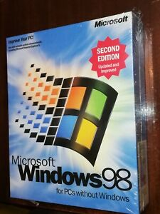 Windows 98 Second Edition.Boot Disk(floppy)+CD With Product Key.