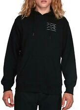 Billabong Fade Black Pop Hoodie / Hooded Pullover - Size L. NWT RRP $69.99.
