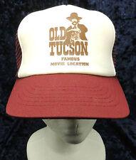 Vintage Old Tucson Famous Movie Location Purple Trucker Hat Cap Mesh Snapback