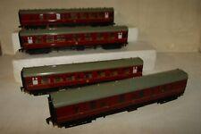 OO gauge HORNBY DUBLO 4x BR Maroon Mk1 Coach 4075 4052 4053 15770 35173 (116)