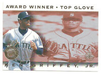 1995 Fleer Ultra Ken Griffey Jr Gold Medallion Award Winner Seattle Mariners