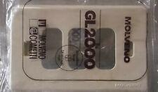 [E] Placche in resina colore avorio 3 fori per serie GL2000 Molveno - 5 pezzi