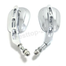 Chrome Rear View Side Mirrors For Indian Roadmaster Springfield Scout Model Bike