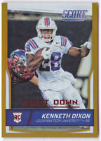 2016 Score First Down #351 Kenneth Dixon 8/10