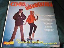 Rare Grail Latin LP : Carlos Munoz ~ Cumbia de Buenaventura ~ Adria MAP 76