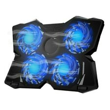 Portable USB Notebook Laptop Cooler Pad LED Computer PC Cooling Gaming w/4 Fans