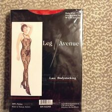 Leg Avenue  SEXY Lace Body Stocking Role Play Lingerie ONE SIZE FITS MOST NIP