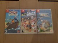 Adventure Time + Paw Patrol + REROLL (Nintendo Switch) New & Sealed!