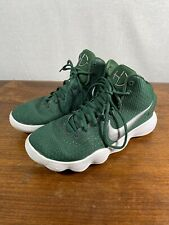 Mens Size 8 Green White Nike Hyperdunk High Top Basketball Shoes 897808-300 Used