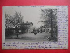 LA VARENNE  :  La Place de la Gare...........VO.1902.