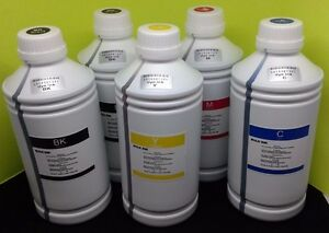 5 Liter Refill Bulk Dye Ink compatible for HP Canon Brother Epson Printer 1000ml