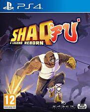 Shaq Fu A Legend Reborn   PlayStation 4 PS4 New