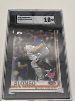 PETE ALONSO ROOKIE 2019 TOPPS UPDATE HOME RUN DERBY RC #US262 GRADED SGC10 GM