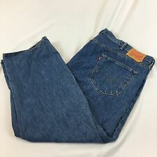 Levi's 501 Button Fly Jeans Big And Tall Size 52x30 Great Shape