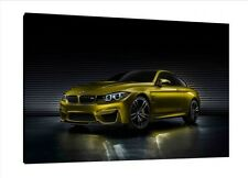 BMW M4 - 30x20 Inch Canvas - Framed Picture Print Wall Art Poster