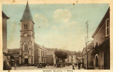 Carte ROUSSET MARIZY Bourg de Marizy