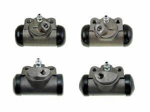 4 Brake Wheel Cylinders 1949-1955 Lincoln NEW SET 49 50 51 52 53 54 55