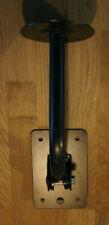 Speaker wall mount tilt bracket - up to 110 Lbs or 50Kg - Black Metal