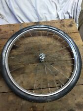Vintage Bicycle 24 Inch Front Wheel Rim tire hub trike Sears huffy Murray bike