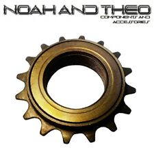 "N&T 16T 34mm 1/2"" x 1/8"" Brown BMX Freewheel Bicycle Single Speed Cog Sprocket"