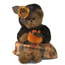 "Bearington Bear - Pumpkin/Autumn Bear 16"" Tall"