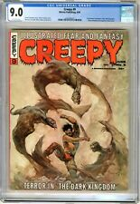Creepy #9  CGC  9.0  VFNM  Magazine  Off wht pgs  6/66  Archie Goodwin story, Fr