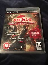 Dead Island Game of the Year Edition PS3 Playstation 3