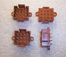 QTY (5) 207120-3 TYCO 12 POSITION METRIMATE VERTICAL CONNECTOR 5mm