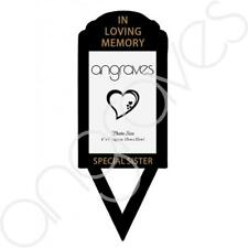 Special Sister Memorial Remembrance Photo Picture Frame Holder Ground Stake