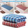 Washable Waterproof Incontinence Bed Pad Elderly Mattress Protector Mat Sheet