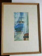 Estelle Zorman McGuckin - Watercolor - Matted/Framed & Signed 11/86